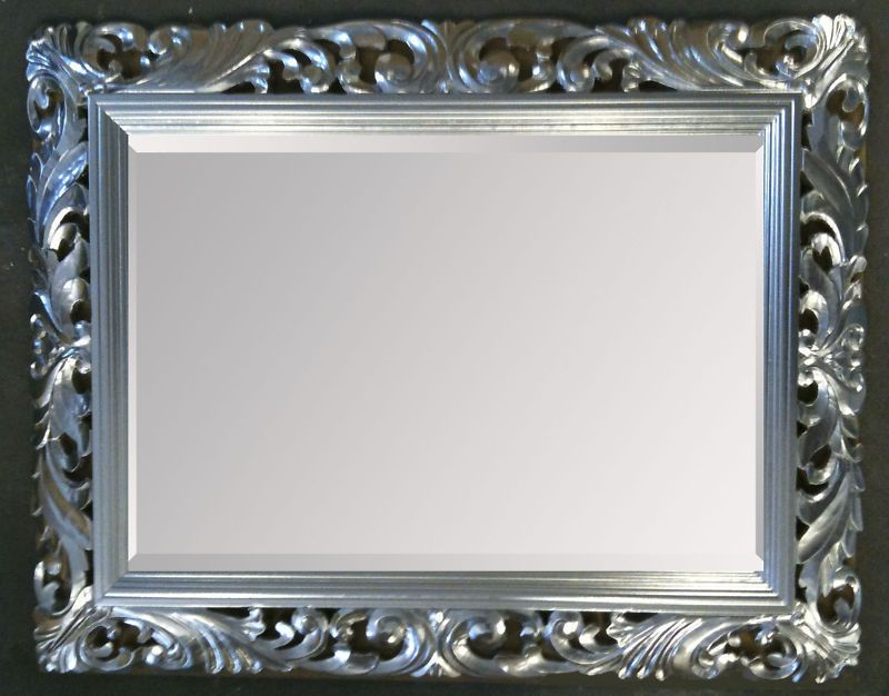 48 x 36 LG French Carved Decorative Bevelled Mirror  65